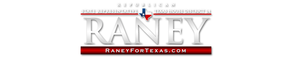 John Raney  |  Texas State Representative  |  District 14