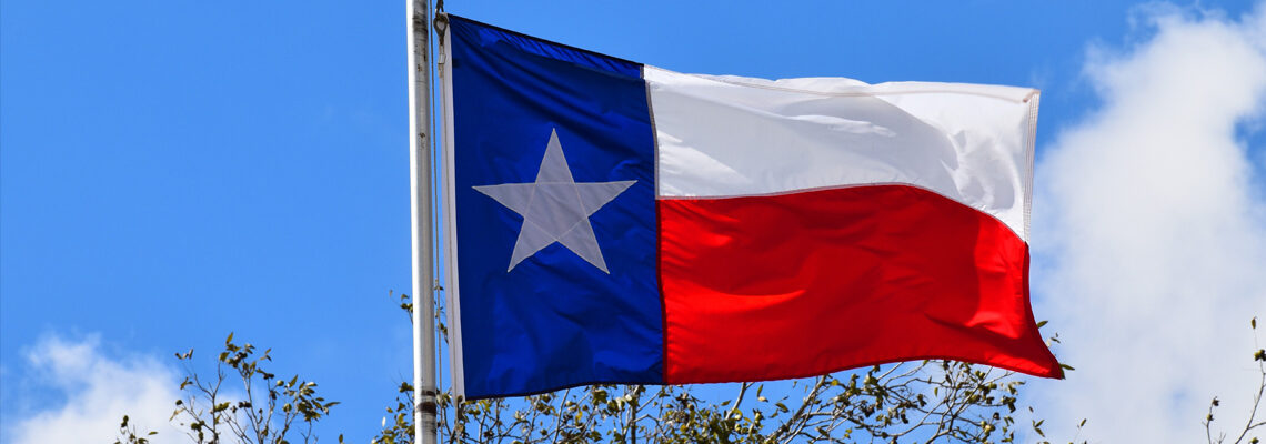 Photo of the Texas Flag
